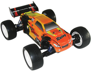 Автомобиль ACME Racing Brushless Truggy Dominator 4WD 1:8 2.4Ghz EP (Orange RTR Version) A2018T