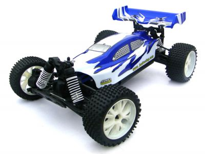 Автомобиль BSD Racing Brushless Buggy 4WD 1:10 2.4Ghz EP (RTR Version) BS701G-R Blue