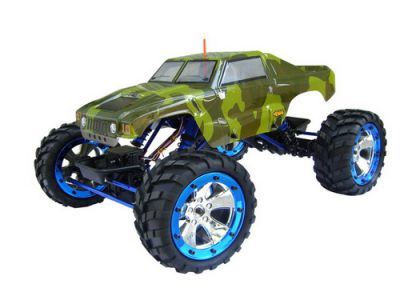 Автомобиль BSD Racing Rock Crawler 4WD 1:10 2.4GHz EP (RTR Version) BS702T