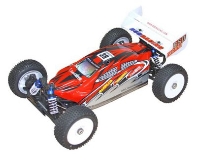 Автомобиль BSD Racing Brushless Buggy 4WD 1:8 2.4Ghz EP (Red RTR Version) BS803T Red