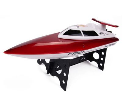 Катер Fei Lun High Racing Boat FT007 2.4GHz RTR 350мм Оранжевый