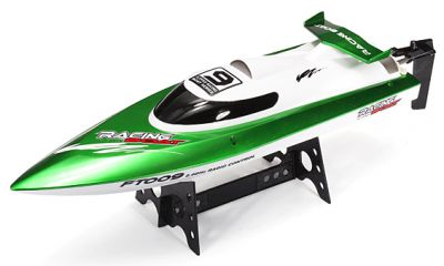 Катер Fei Lun High Speed Boat FT009 2.4GHz RTR 460мм Зелёный
