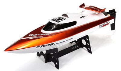 Катер Fei Lun High Speed Boat FT009 2.4GHz RTR 460мм Оранжевый