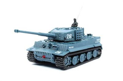 Танк Great Wall Toys Tiger 1:72 со звуком 2.4GHz (2117-4) Серый