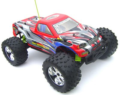 Автомобиль BSD Racing Brushless Monster Truck 4WD 1:10 2.4GHz EP (RTR Version) BS909T Red