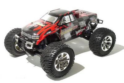 Автомобиль Thunder Tiger SLEDGE HAMMER MTA-4 V2 MONSTER TRUCK 1:8 Нитро (6225-F101) Красный