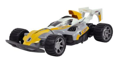 Автомобиль Xinlehong Toys High Speed car 3в1 2.4GHz RTR Желтый (XLH-9109)