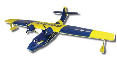 Гидросамолет Dynam PBY Catalina Brushless 2.4GHz RTF Синий