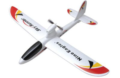 Планер Nine Eagles Sky Runner 2.4 GHz (White RTF Version) NE30277224207001A (NE R/C 772B) Белый