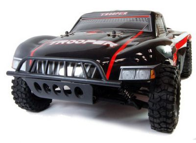 Автомобиль ACME Racing Brushless Trooper 4WD 1:8 2.4Ghz EP (Black RTR Version) A2016T