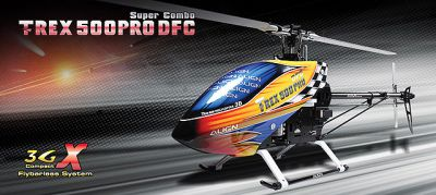 Вертолет Align T-REX 500 PRO DFC Super Combo 3D RC  (KIT Version) RH50E01XW (RH50E01XT)