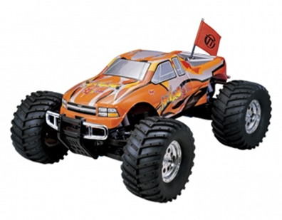 Автомобиль Thunder Tiger MTA-4 S28 MONSTER TRUCK 1:8 Нитро (6228-F102) Оранжевый